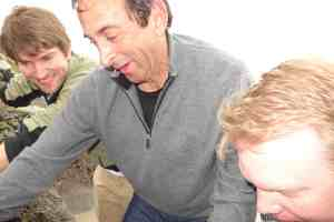 Rick Grosberg teaches tidepools at KITP